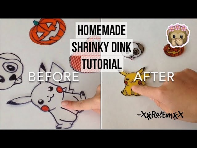 Homemade Shrinky Dink Tutorial | How to Make Super Cute Charms!