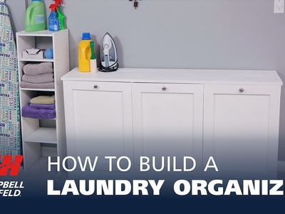 How to Build a DIY Laundry Organizer
