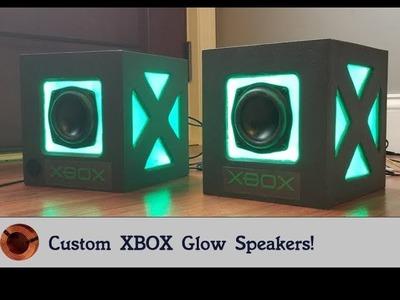 How to Build Custom Xbox Glow Speakers - Free Basic Plans