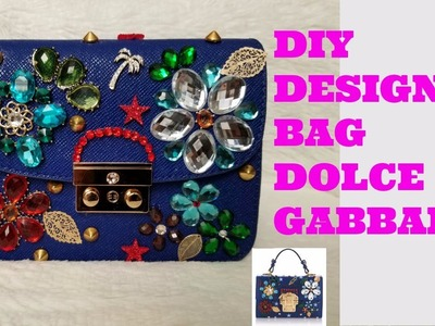 HOW TO: DIY DESIGNER  DOLCE AND GABBANA BAG.