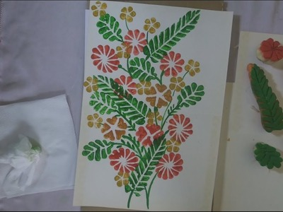 How To Make Vegetable Carving Painting (Easy) (Full Tutorial)