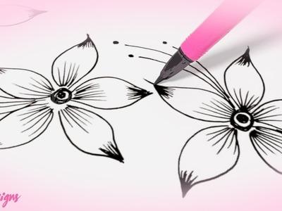 Nas Designs Tutorial 01 : Floral Design