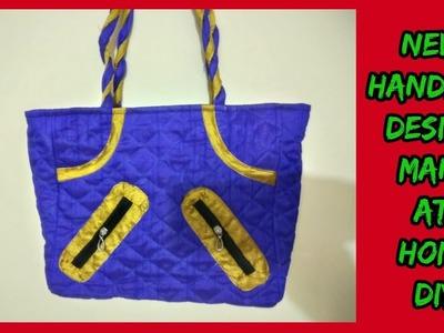 New handbag make at home diy in hindi |amzon|flipkart|snapdeal|voonik|myntra|e-bay|shopclue||