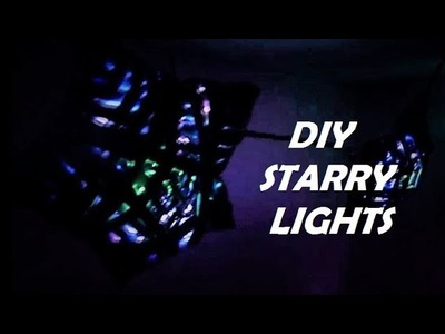 ⛄New Year Decorations????    HOW TO MAKE STARRY LIGHTS    2017-18