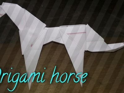 Origami Horse With Paper At Home Easy Tutorial For
