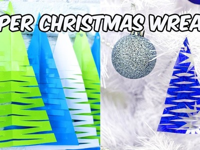 Paper Christmas Wreath | Paper Crafts | DIY Cristmas Decoration