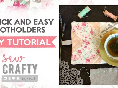 Perfect Gift Giving Tutorial: Quick and Easy Potholders
