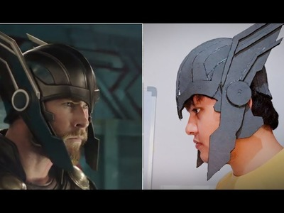 Thor Ragnarok Helmet PART:1 (Rotating wing's Mechanism) EASY DIY