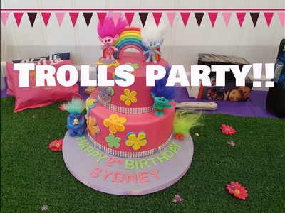 Trolls Party DIY's | Herts Mum
