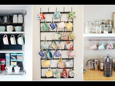 30+ Fun and Practical DIY Coffee Mugs Storage Ideas for Your Home