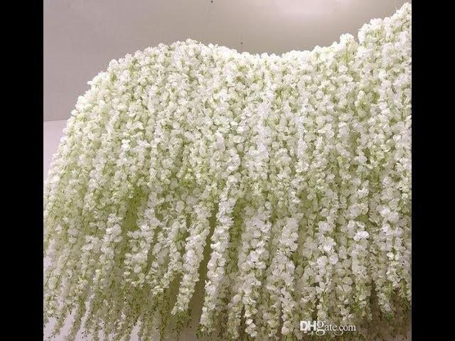 30pcs 100cm artificial hydrangea orchid wisteria flower for diy 30pcs 100cm artificial hydrangea orchid wisteria flower for diy wedding decoration aliexpress junglespirit Choice Image