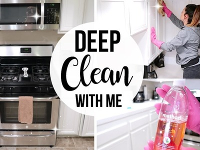 DEEP CLEAN WITH ME. DIY Grout Cleaner Recipe