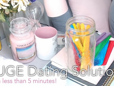DIY: A HUGE Dating Solution   Solved in Less Than 5 Minutes!