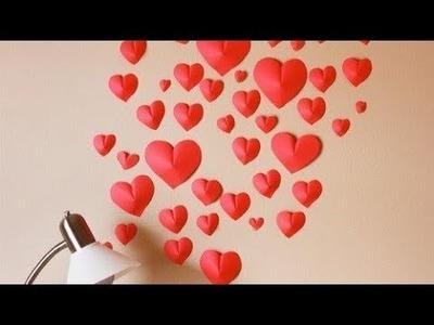 DIY Heart Wall DECOR!!!