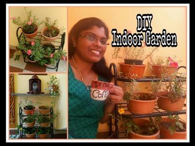 DIY Indoor garden | Balcony garden idea