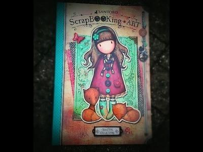 Great news!!!  Scrapqueen is in a Scrapbooking art book for Gorjuss Santoro !!!