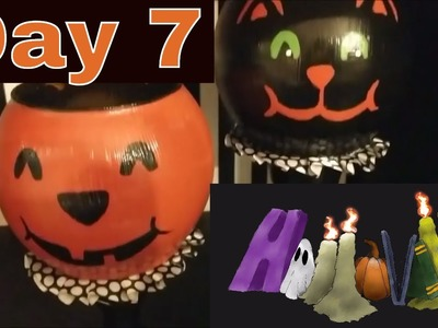 HalloWEEK Day 7 Dollar Tree Halloween DIY's!