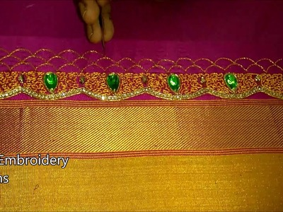 Hand embroidery designs for beginners | basic embroidery stitches tutorial,hand embroidery designs