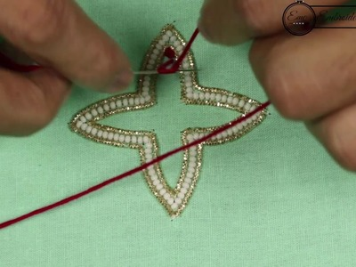 Hand Embroidery Flower Design for Beginners | French Knot