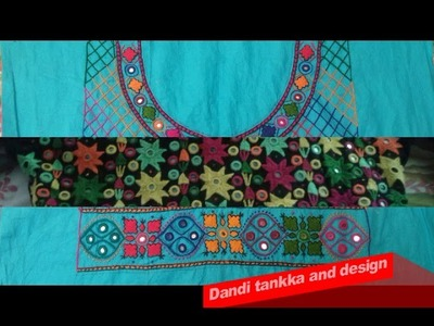 Hand Embroidery: Gally k designs.Neck designs