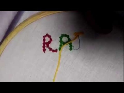 Hand Embroidery (Sippy Stitch.Beads Stitch) Moti Tanka