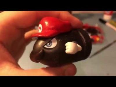 My DIY: CAPtured Bullet Bill (Super Mario Odyssey)