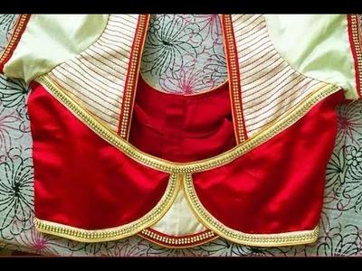 New Model Patchwork Modren Blouse Designs || Latest South Indian Fashion