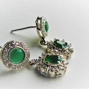 Onyx Earrings/Gift for her/Birthday Gift for her