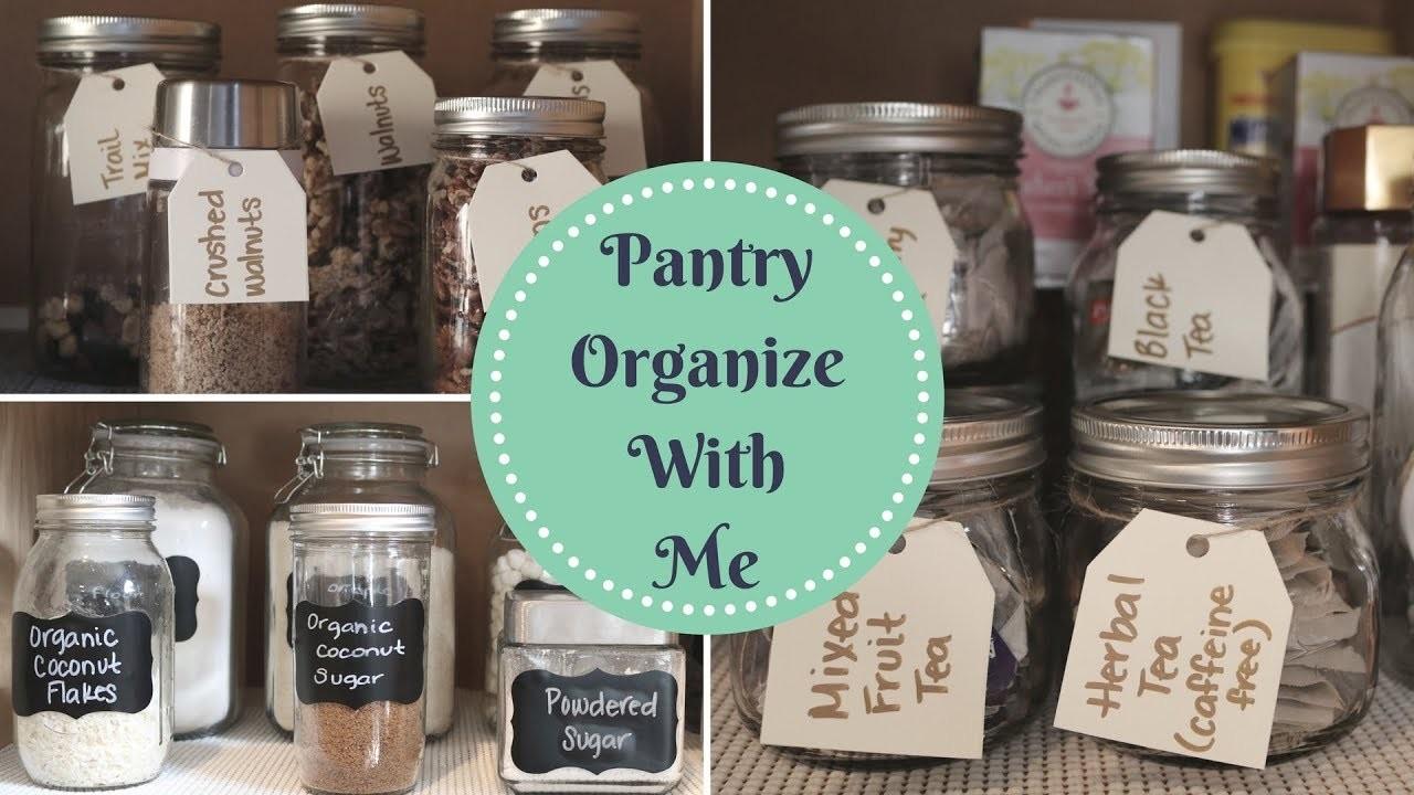 PANTRY ORGANIZATION | DIY Organize With Me