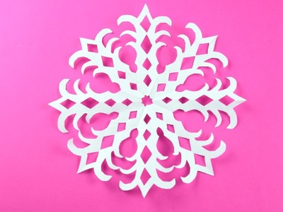 Paper snowflake ❄ №20 ❄ for Christmas and New Year. Detailed tutorial DIY