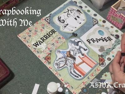 Scrapbooking with Me ASMR Crafting