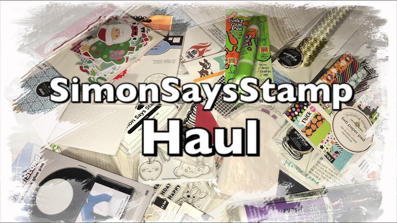 SSS Haul Simon Says Stamp Haul deutsch Oktober 2017, Scrapbooking, Doodle Bug, Simple Stories, DIY