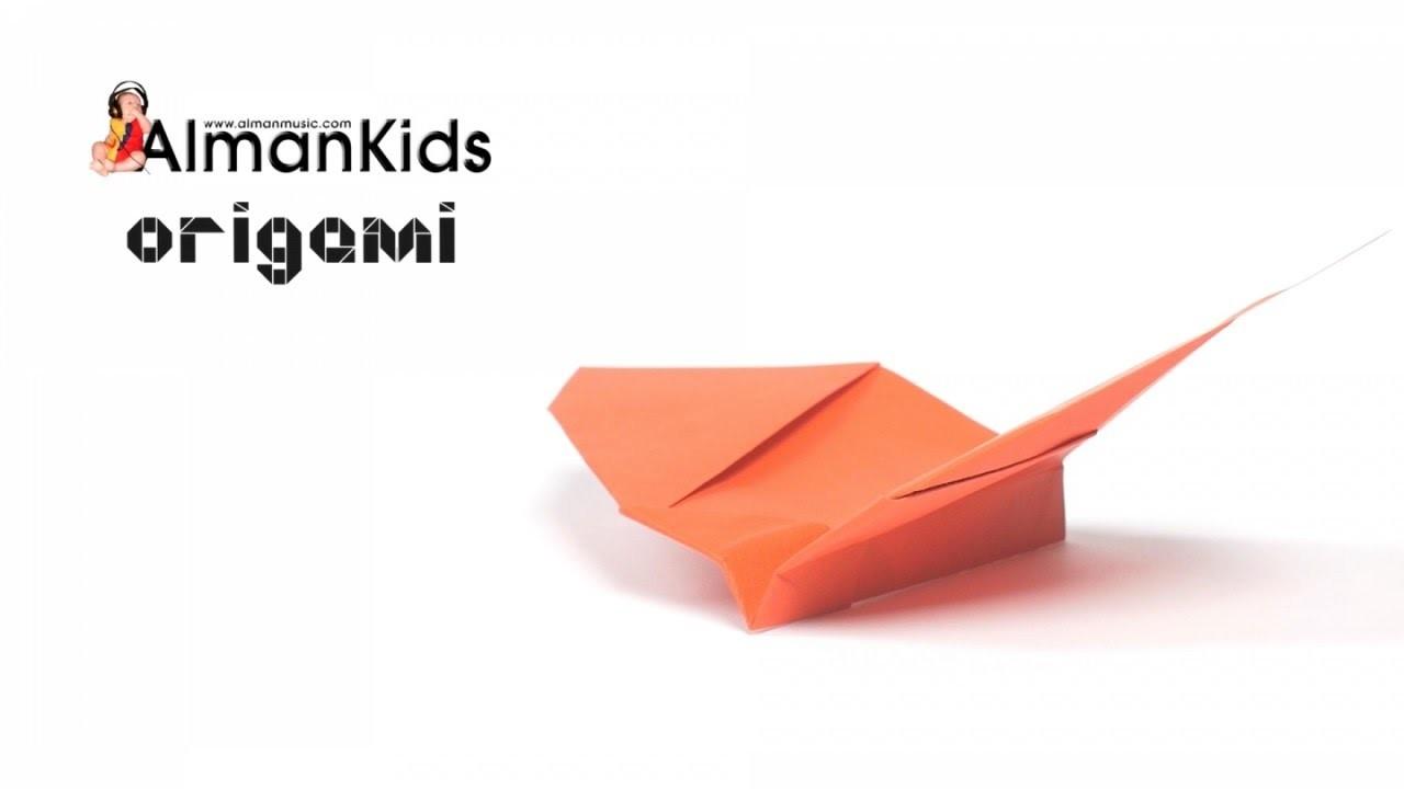 AlmanKids Origami Halloween | Pipistrello che batte le ali | Murciélago de Papel | Bat Flapping