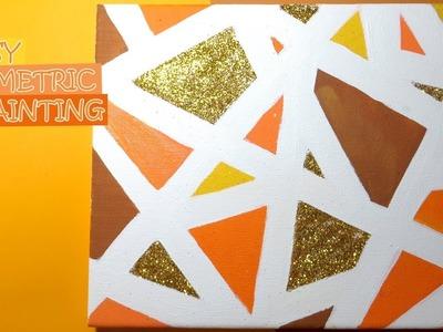 DIY: Easy Geometric Painting
