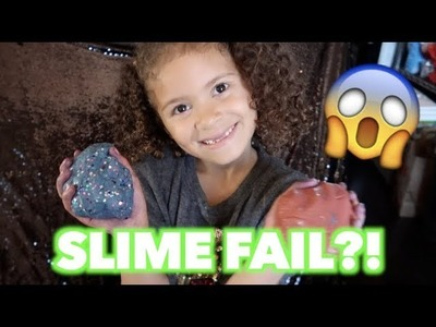 DIY FLUFFY SLIME WITHOUT GLUE! ???????????? WAS IT A FAIL?! | ARAYASUNSHYNE