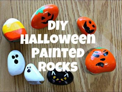 DIY Halloween Painted Rocks - Hidden Rock Game - EASY Rock Painting!!