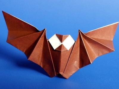 Easy Origami Bat Tutorial for Halloween