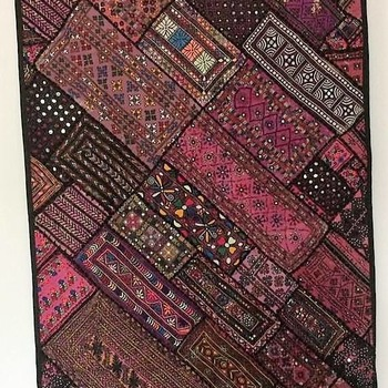 Embroidered Sindhi Patchwork Decorative wall decor.