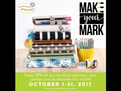 Fun Stampers Journey Planners + Accessories [Haul Video Travelers Notebook A5 Planner Stamps]