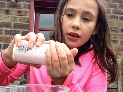 How to make clear slime (U.K. Ingredients only)