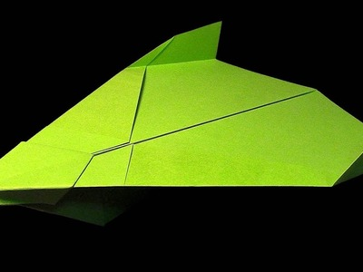 How To Make LF-2 Glider (Flies Very Far) Best Paper Planes in the World