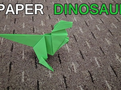 How To Make Paper Dinosaurs | Paper Dinosaur Easy