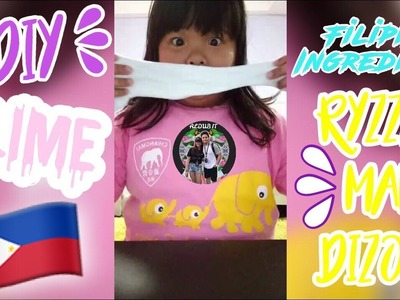How to Make Slime in the Philippines Filipino Ingredients By Ryzza Mae Dizon