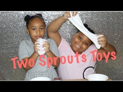 How To: Make Slime with Two Sprouts Toys
