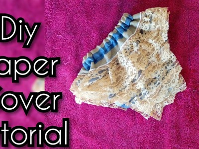 How to sew a Diaper Cover for babies and toddlers--Two ways!