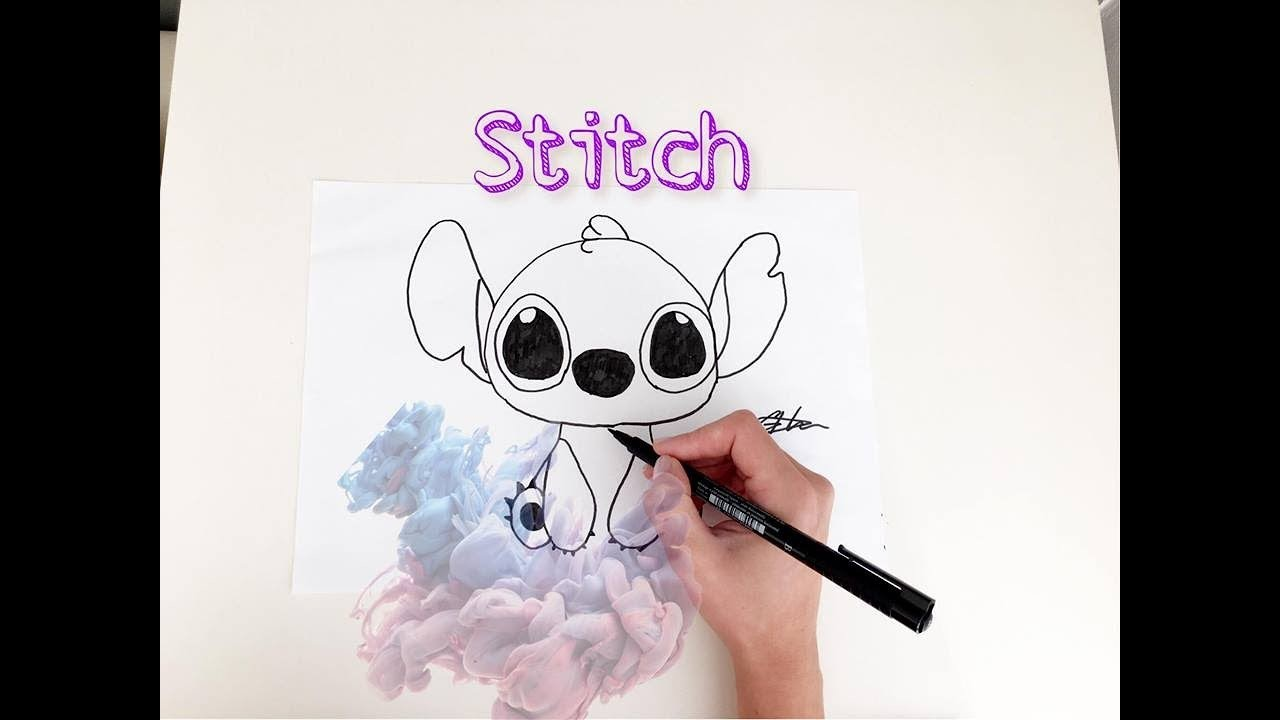 MOST EASY WAY TO DRAW STITCH Drawing Stitch Step By StepSTITCH FROM DISNEY