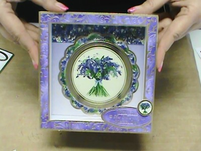 "#148 3 Amazing Projects with NEW Hunkydory ""Garden Flowers of Britain"" by Scrapbooking Made Simple"