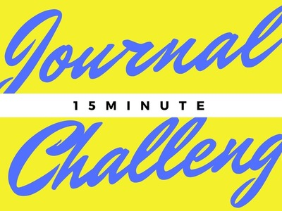15 MINUTE JUNK JOURNAL CHALLENGE! | JOURNAL WITH ME| SUGAR