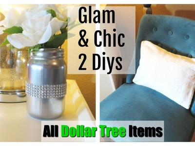 "**2 Super Easy DIYS** All ""Dollar Tree"" Items 