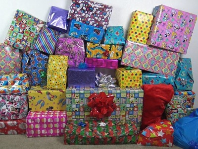 2016! NEW A LOT OF CANDY AND PRESENTS FOR KIDS!